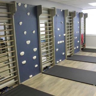 Main ScoliClinic physiotherapy treatment area
